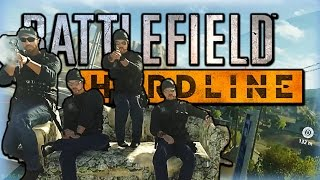 Battlefield Hardline Funny Moments - Launching the Drivable Couch, Helicopter Rodeo, and More!