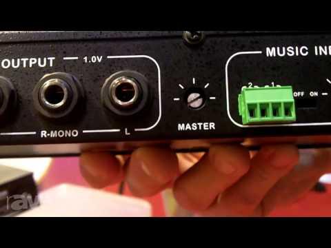 InfoComm 2013: Fitness Audio Shows its Aeromix 2+2