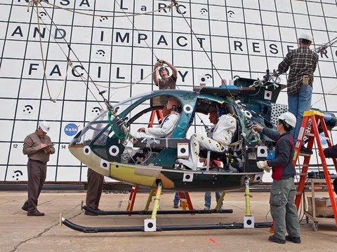 Thumb Video of NASA doing Helicopter Crash Tests