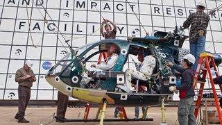 Vídeo de la NASA experimentando con la caída de un helicóptero