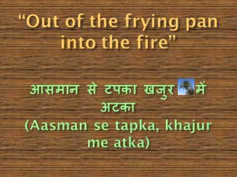 Hindi Proverbs English Translations and Equivalents