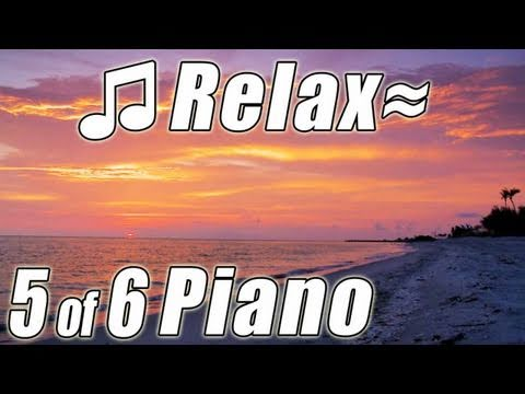 RELAXING PIANO #5 Romantic Music Ocean Instrumental Classical Songs Relax Slow jazz HD video 1080p