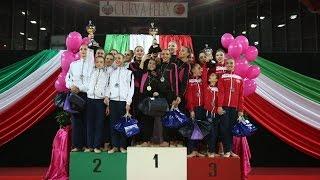 Chieti 2015 - 1ª Prova Campionato Italiano Serie A di Ginnastica Ritmica