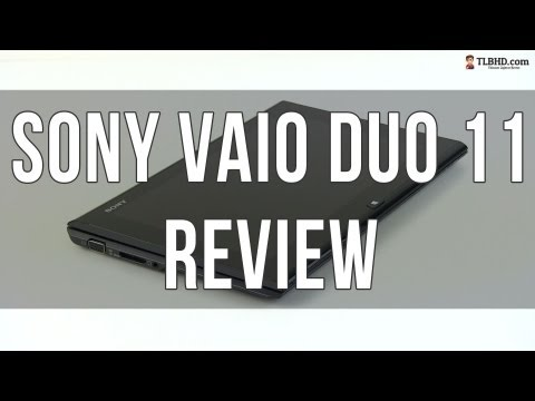 Sony Vaio Duo 11 review: hybrid touchscreen ultrabook