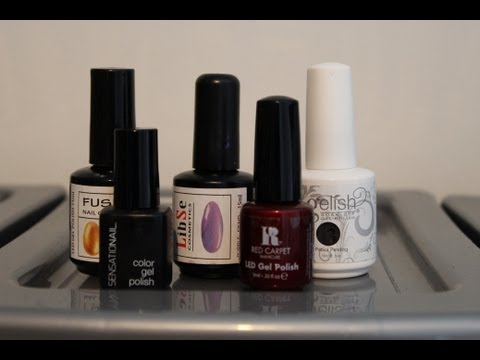 Compare & Review Series - LED Gel Nail Polish