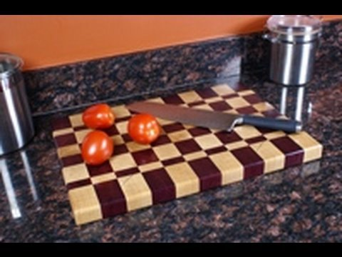 Woodworking #7- Make an End Grain Cutting Board Pt.1