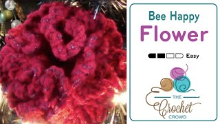 How to Crochet a Flower: Be Happy Flower