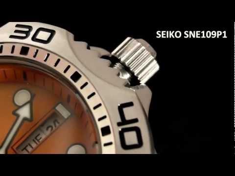 2S Time : Seiko Solar Scuba Diver Sports SNE109P1 200m