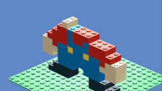 How to make lego mario on LDD