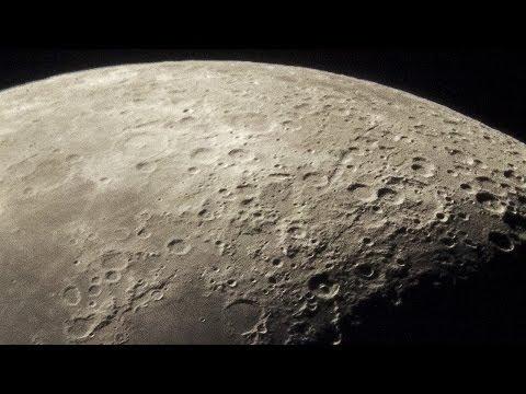 The Moon - New 14 bit RAW recordings