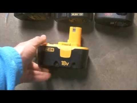 How to bring a Dead battery back to life revive / rejuvenate / fix rechargeable NiCd battery
