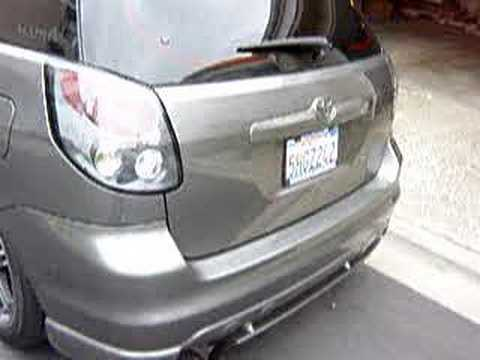 My Toyota Matrix XR 04 Latest Update till April 08
