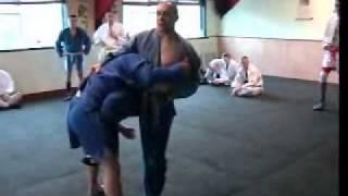 Combat sambo stance
