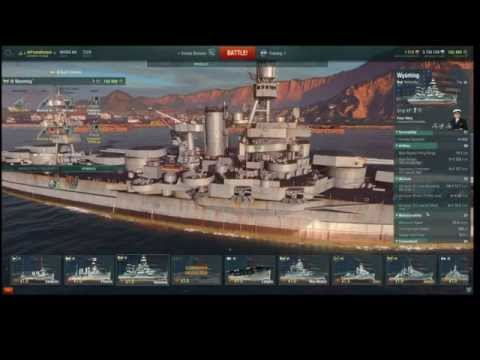 How to play the USS Wyoming (and Arkansas Beta) in World of Warships