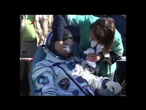 Expedition 28 Crew Lands Safely