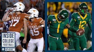 Texas at #14 Baylor Preview | Inside College Football