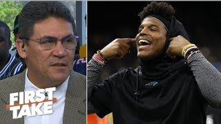 Cam Newton would be motivated by quarterback competition – Ron Rivera | First Take