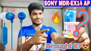 BROUGHT IT?🔥|SONY MDR-EX14AP HEADPHONE UNBOXING|Unique Gadget Under 600🔥