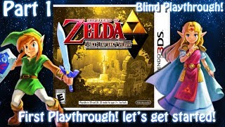 [3DS]The Legend of Zelda: A link between worlds[BLIND][Part 1] LETS GO! Live stream archive