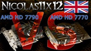 AMD HD 7790 vs AMD HD 7770