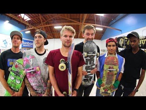 THE ULTIMATE BRAILLE S K A T E TOURNAMENT! | SEMI FINALS