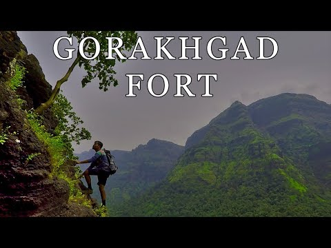 Gorakhgad Trek | Adventurous Rock Climbing | Travel Vlog | Gopro India | Thane, Maharashtra, India