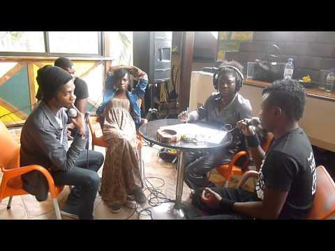 Cafe Negro e Sentido Proibido falam sobre o Rock em Angola na Radio Nacional 13 07 14 parte 1