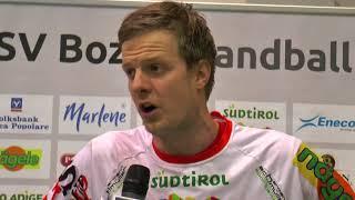 Serie A1M [13^]: Bozen-Brixen 26-26 | Post-gara