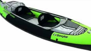 Kayak gonflable advanced