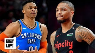 Russell Westbrook vs. Damian Lillard makes OKC-Blazers exciting in playoffs - Jalen Rose | Get Up!