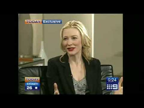 Cate Blanchett and Brad Pitt interview Video