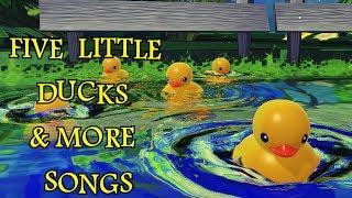 Five Little Duck & More Songs | Kids Songs | Nursery Rhymes | Baby Songs | Children Songs