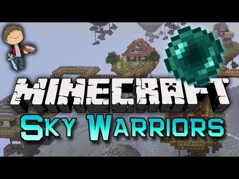Minecraft: SKYBLOCK WARRIORS 3 Mini-Game w/Mitch & Friends!