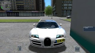 City Car Driving 1.4.1 Bugatti Veyron SS