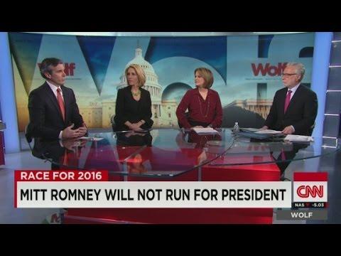 Mitt Romney will not run for President
