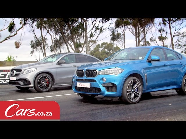 Drag Race: BMW X6 M vs Mercedes-AMG GLE63 S Coupe - YouTube