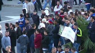 مظاهرات في الجزائر للتنديد برسوم مجلة شارلي إبدو