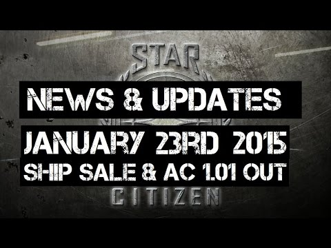 Star Citizen News - Limited Ship Sale & Arena Commander 1.0.1 Released