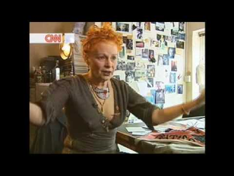 Vivienne Westwood interview on CNN