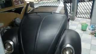Vw Fusca Ratlook Converssivel Retrotech - Vw Beetle Convertible Hebmuller
