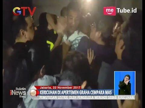 Listrik Diputus, Penghuni Apartemen Graha Cempaka Mas Kemayoran Ngamuk - BIS 23/11