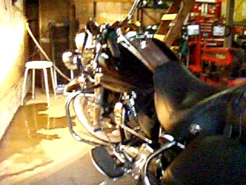 2009 Road King Classic w/ Samson fishtail mufflers