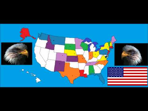 50 States And Capitals By Animaniacs (Wakko's America)