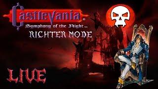 Castlevania: Symphony of the Night - Richter Mode - Richter dando um passeio pelo castelo!!!