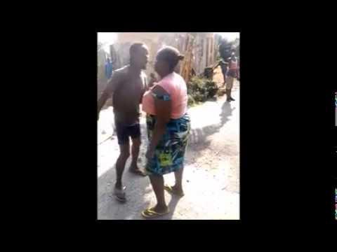 Woman Beats Man In Jamaica LOL DWL PART 2