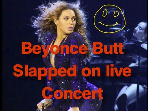 BEYONCE SLAPPED ON THE ASS