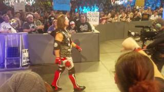AJ STYLES ENTRANCE IN CHICAGO 12/27/2016