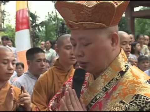 Lễ Khai Quang Đại Hùng Bảo Điện - Phóng Liên Đăng