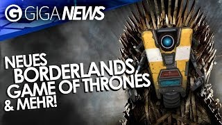 Neues Borderlands - Game of Thrones von Telltale - No Mans Sky - GIGA News - VGX 2013-Special