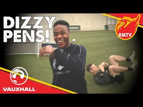 STERLING AND COUTINHO take Dizzy Pens for Dizzy Goals! | Redmen TV x Vauxhall Football
